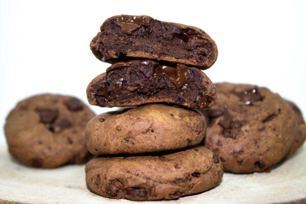 cookies brownie vegan