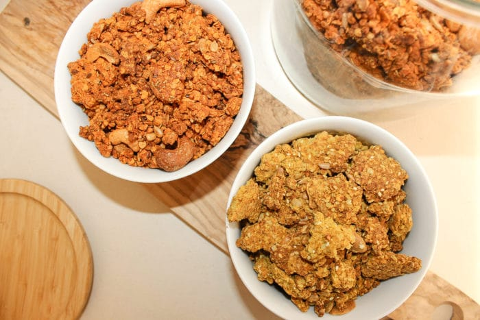 Granolas sales vegan sans gluten fit