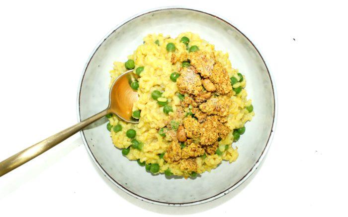 granola curry risotto