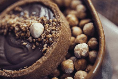 Tarte noisette vegan sans gluten