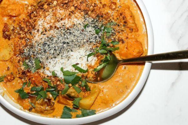 Curry de legumes healthy fit et gourmande