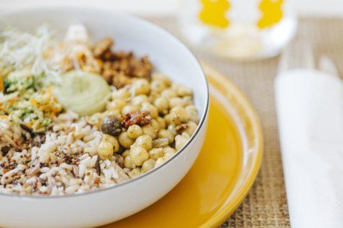lunchbox vegetarienne fit et gourmande