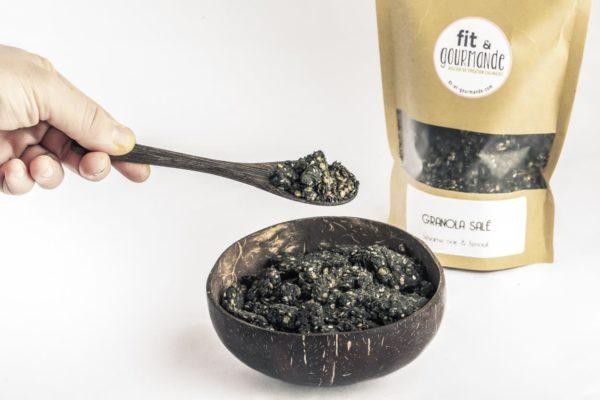 granola sesame noir fenouil vegan sans gluten