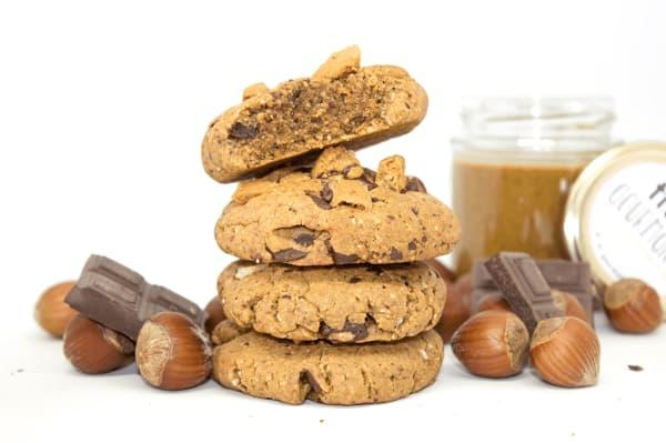 cookies noisettes vegan