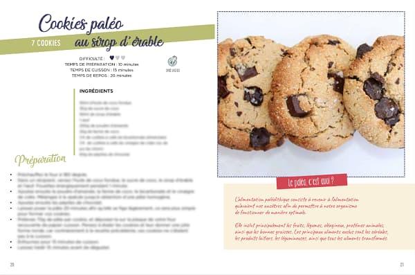 recette cookie paléo ebook sans gluten