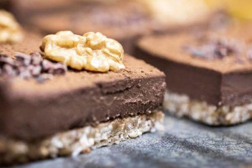 carre chocolat noix vegan sans gluten