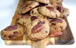 Cookies chocolat pecan healthy