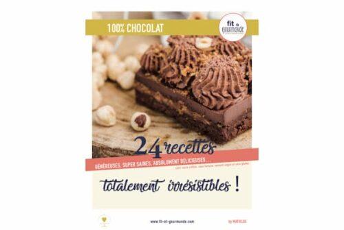 Livre de recettes chocolat vegan sans gluten