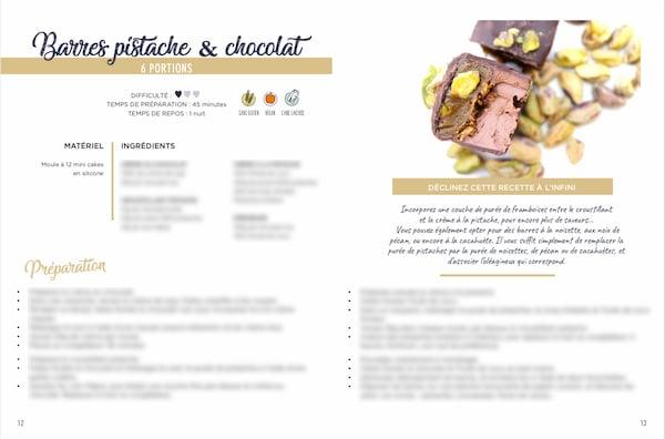 Ebook recette chocolat barre