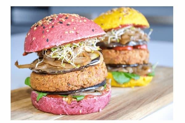 burgers vegan healthy