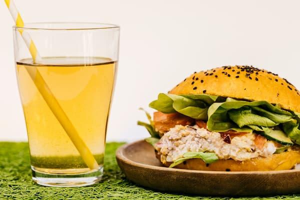 burger vegetarien fit et gourmande